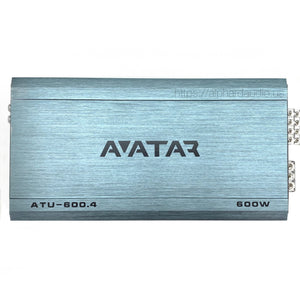Avatar ATU-600.4 | 320 Watt 4-channel Amplifier