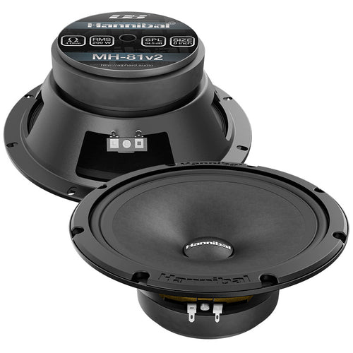 "Hannibal MH-81 v2 | 8"" speakers"
