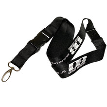 Lanyard with Deaf Bonce logo
