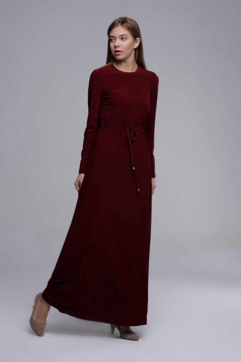 ABAYA BELT BORDEAUX