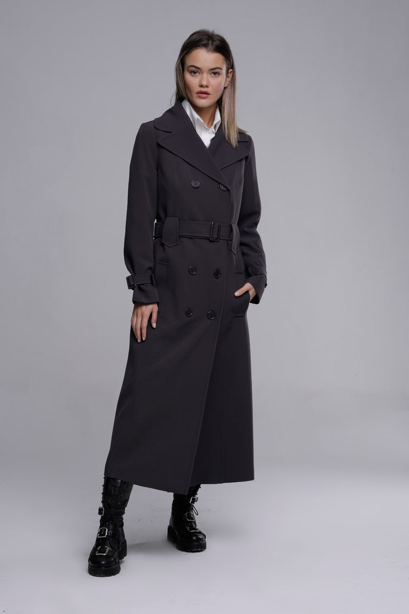 TRENCH-COAT ANTHRACITE
