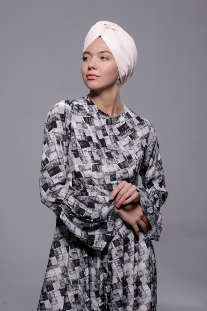 HIJAB CREPE QUEEN ROSE TUTU