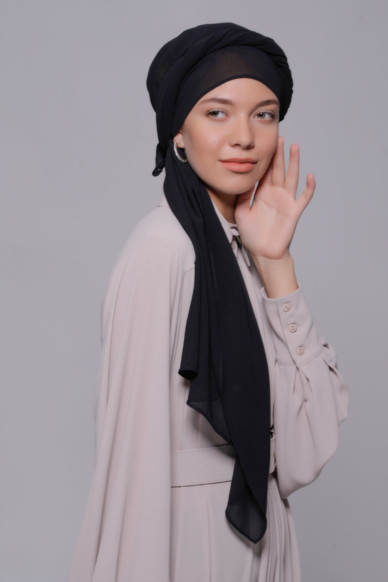 HIJAB MOUSSELINE QUEEN