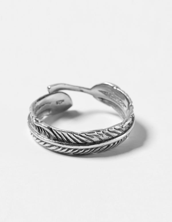 Feather Ring - SilRi03