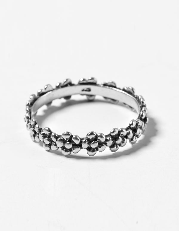 Flower Ring - SilRi04