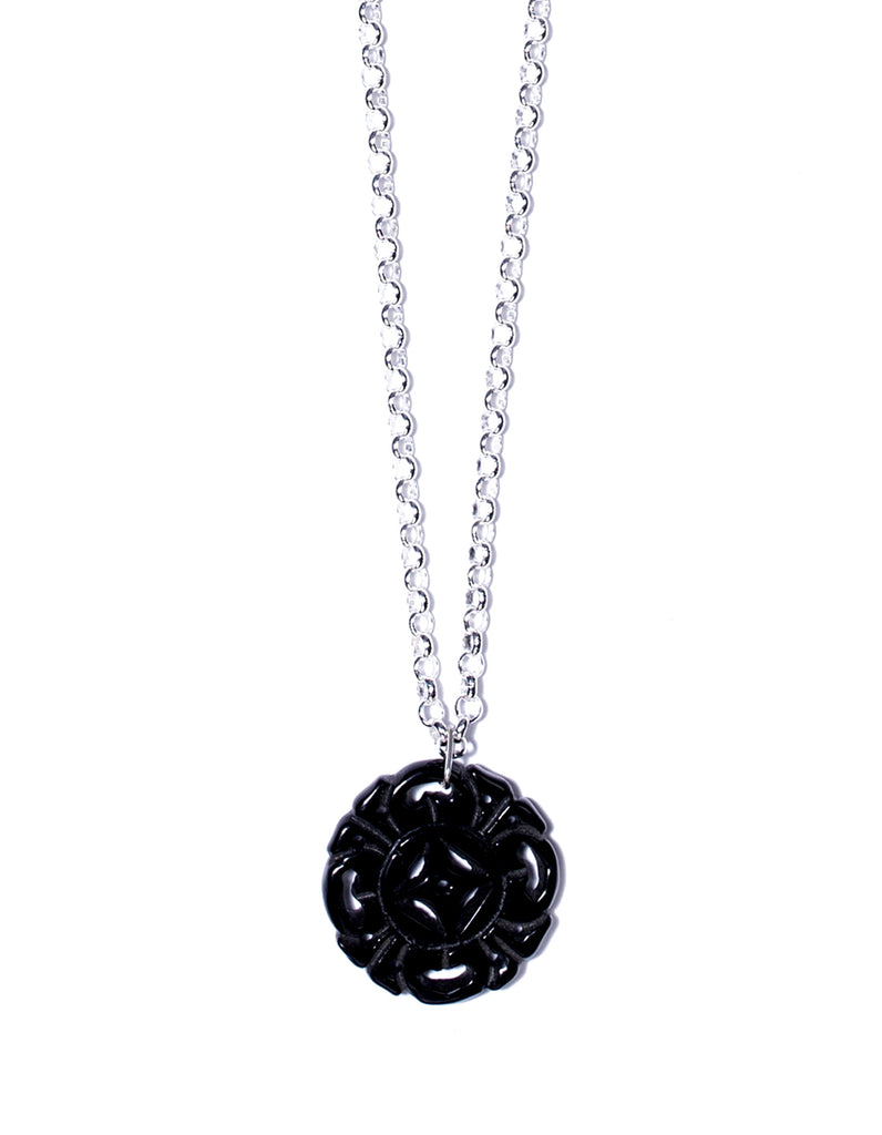 "Chinese Amulet Chain ""Midnight Black"" - ChCh02"