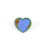 Neon Sunset Tits pin