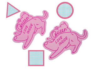 Queer Love Inside Patches