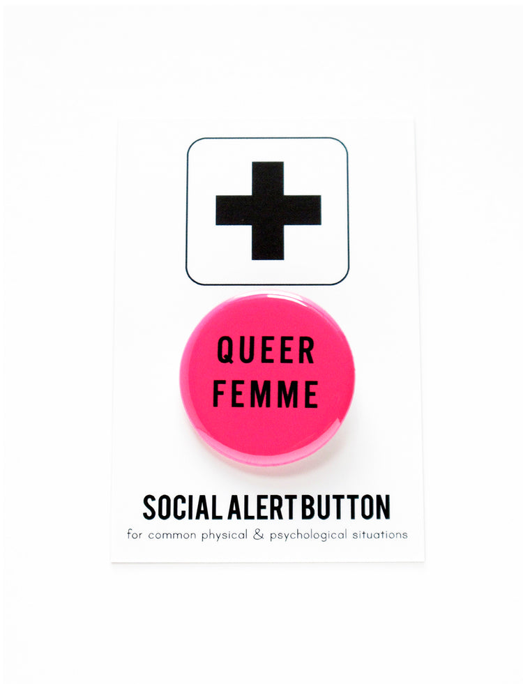 Queer Femme button