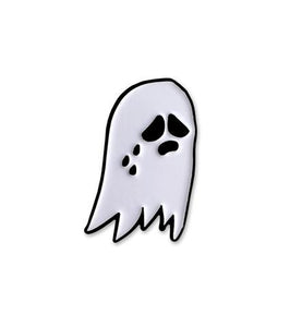 Sad Ghost pin