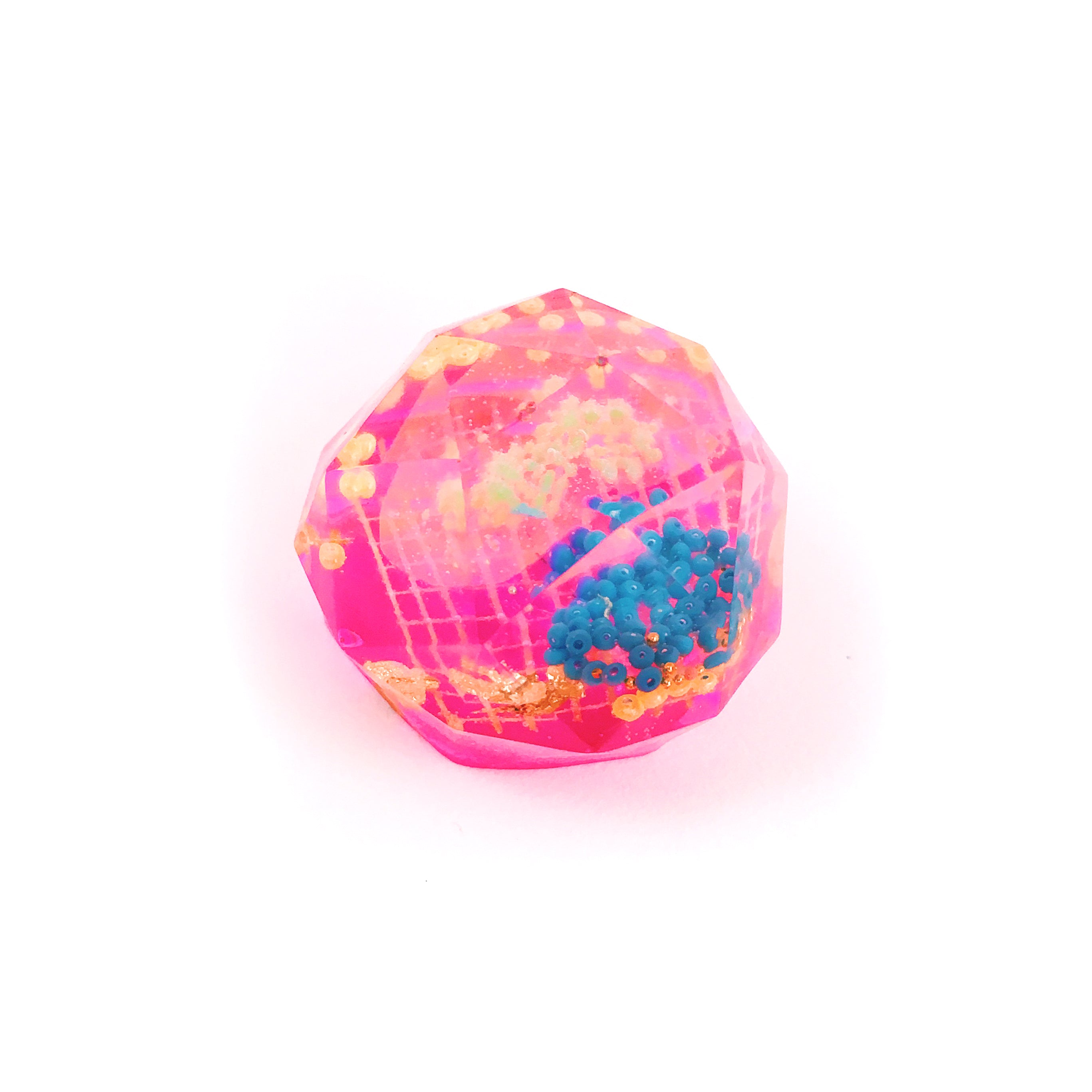 Small Gem Resin Pet