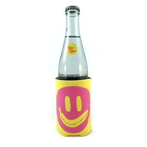 Smiley Wiener koozie