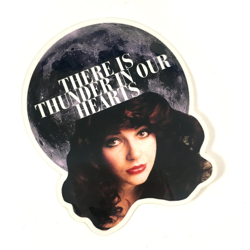 There is Thunder in Our Hearts Sticker