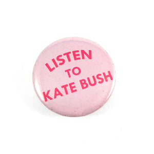Kate Bush Button