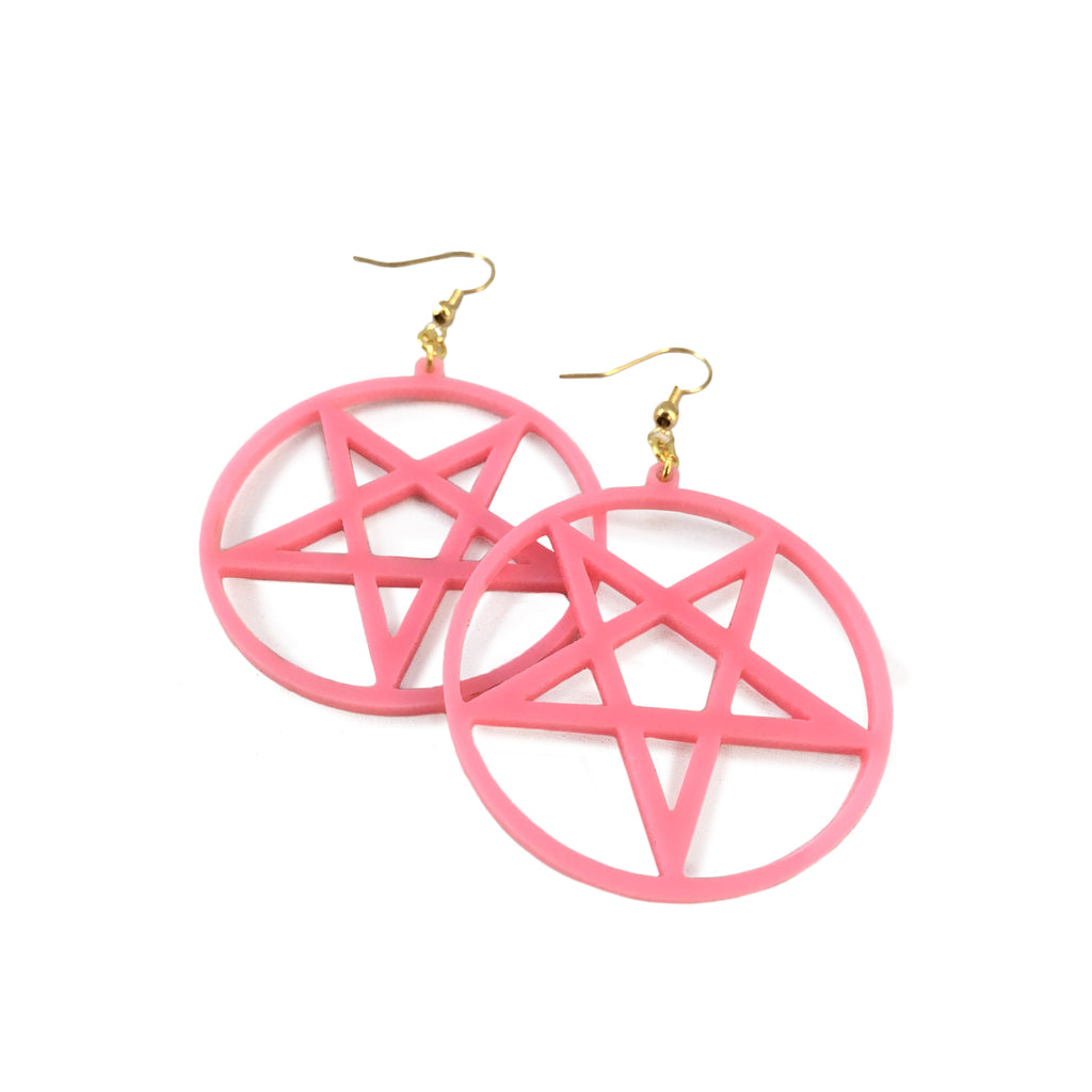 Pentagram / Pentacle Earrings