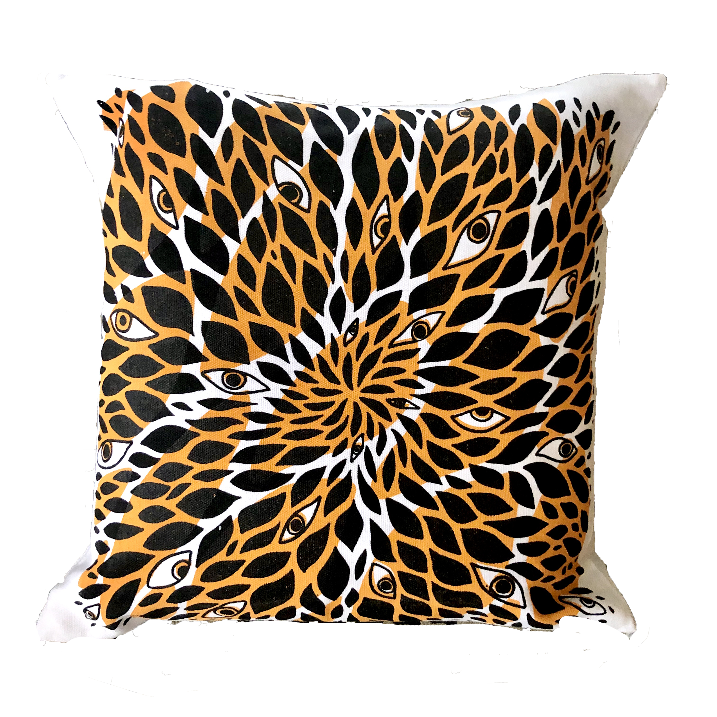 Screen Printed Pillow Cover