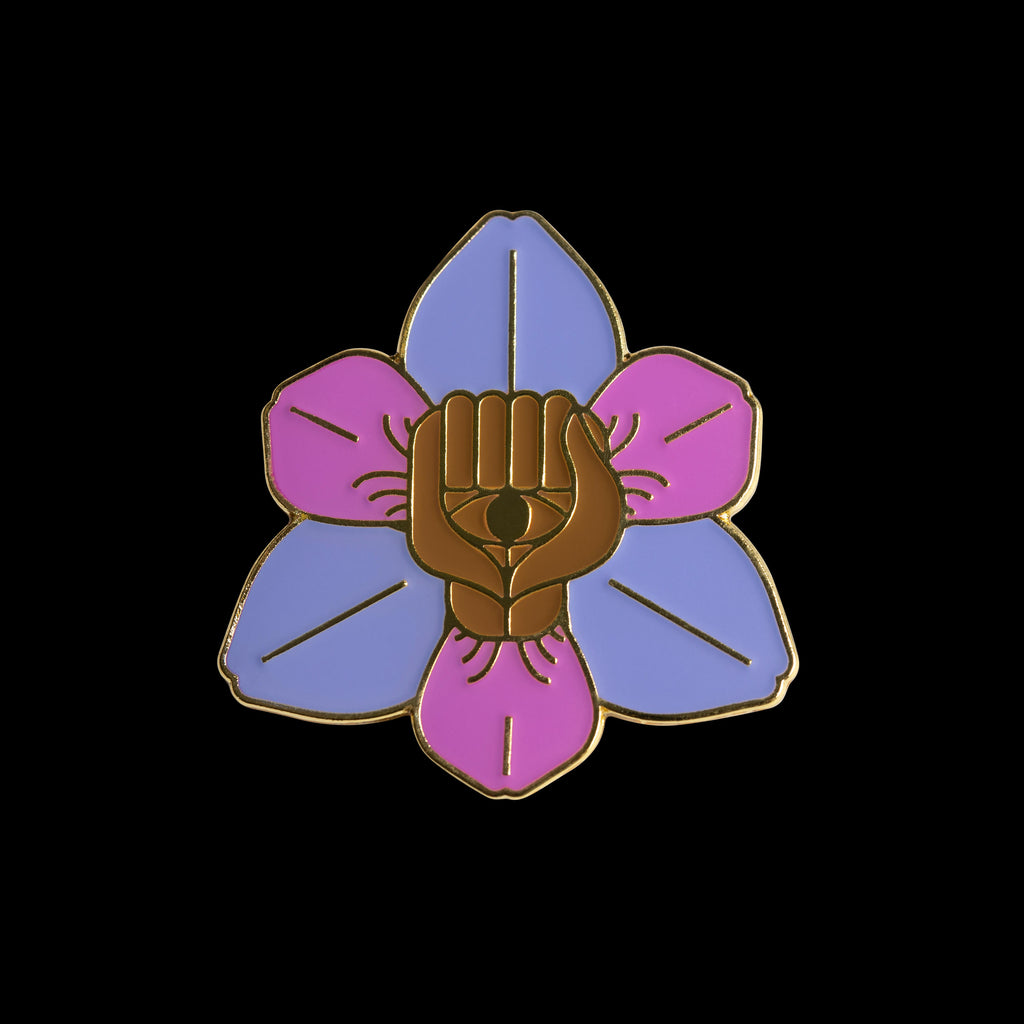 Flower Fist Pin by Essentials Creative