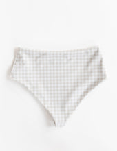 Ladies High Waisted Bottoms - Sahara Gingham