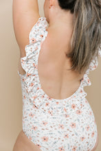 Women's Ruffle One Piece - Blooming Peach