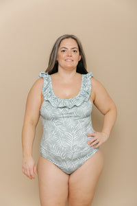 Women's Ruffle One Piece - Meadow