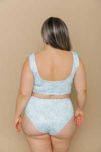 Women's High Waisted Bottoms - Ocean