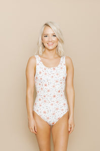 Women's Everyday One Piece - Blooming Peach