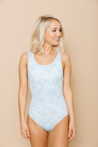 Women's Everyday One Piece - Ocean