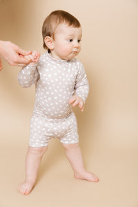 Baby/Toddler Onesie Swimsuit - Sand