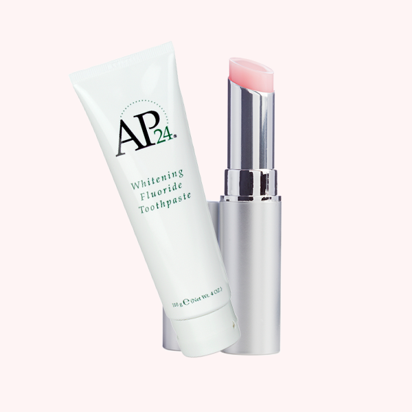 LIP PLUMPING BALM & TOOTHPASTE