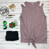 Cut It Out Tank Top
