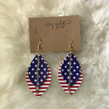 Classic American Earrings