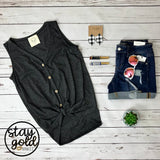 Button Up Down Tank