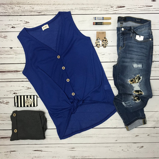 Button Up Down Thermal Tank