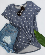 Casual Dots Tops