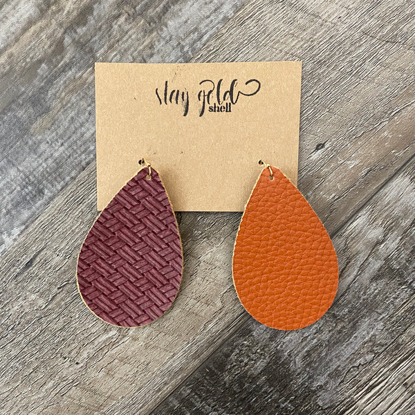 Reversible Thankful Earrings