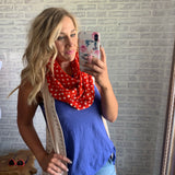 Dot to Dot Scarf