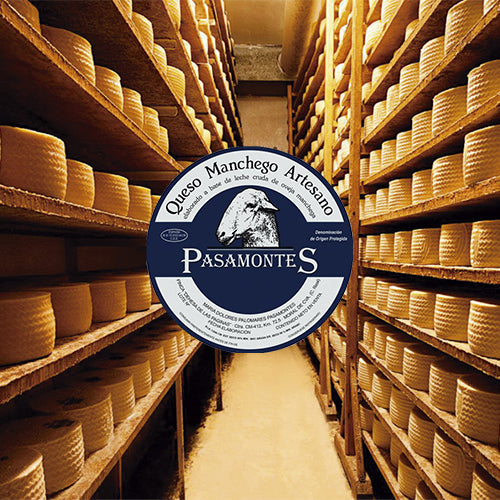 Pasamontes manchego cheese