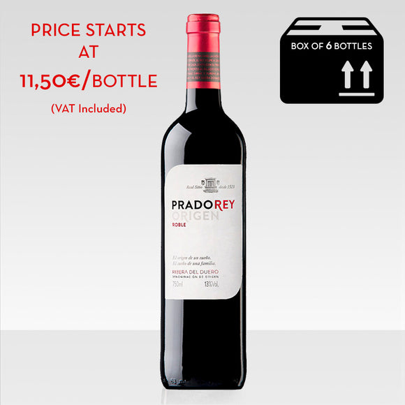 Pradorey roble red wine