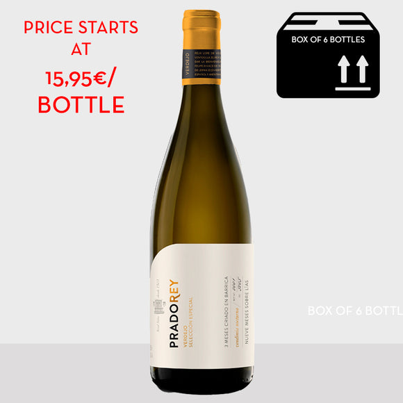 Pradorey Verdejo Special selection 2016, DO Rueda white wine