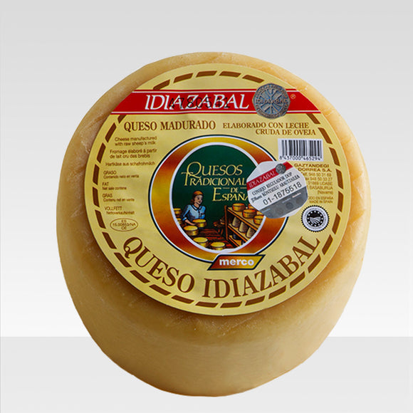Idiazabal artisan sheep cheese