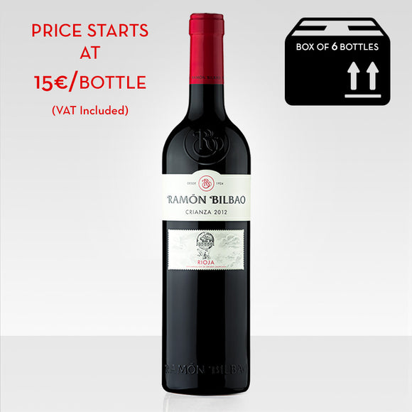 Ramon Bilbao Crianza red wine rioja