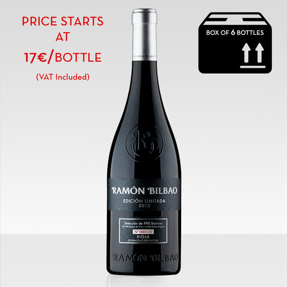 Ramon Bilbao Limited edition red wine rioja