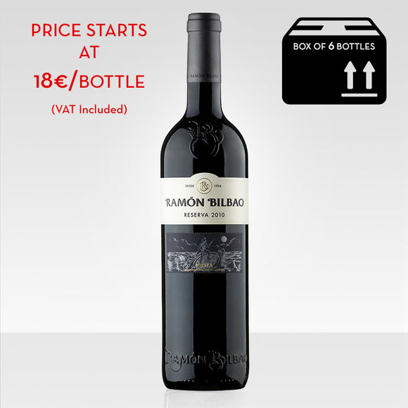 Ramon Bilbao Reserva red wine rioja