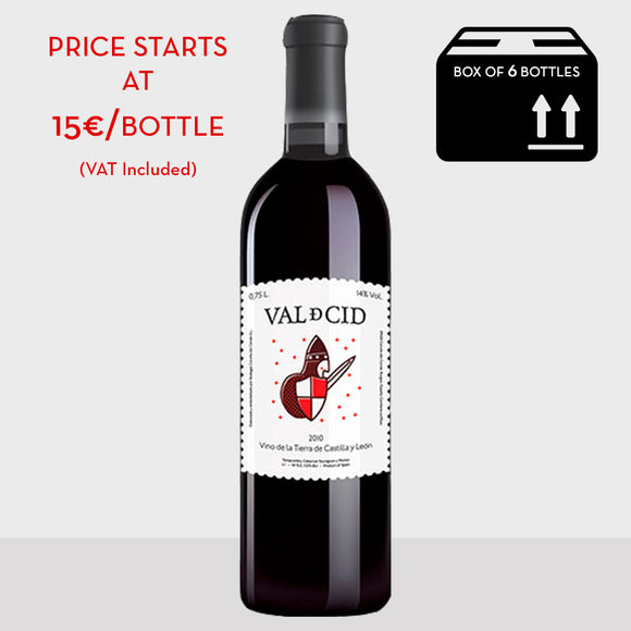 Val de Cid 2010 red wine