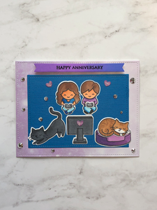 Commission: Anniversary Card for Cortax