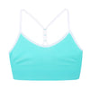 Blue T-back Sport Bra Girl