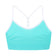 Charlotte Racerback Tween Sports Bra ~ Aqua (On Sale)