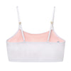 Half Cami Organic Cotton Training Bra for Girls  ~ Bright White