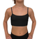 Eve Organic Cotton First Training Bra for Girls ~ Black