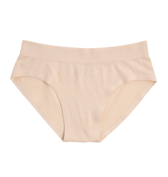 Elena Girls' Seamless Underwear for Tweens ~ Nude